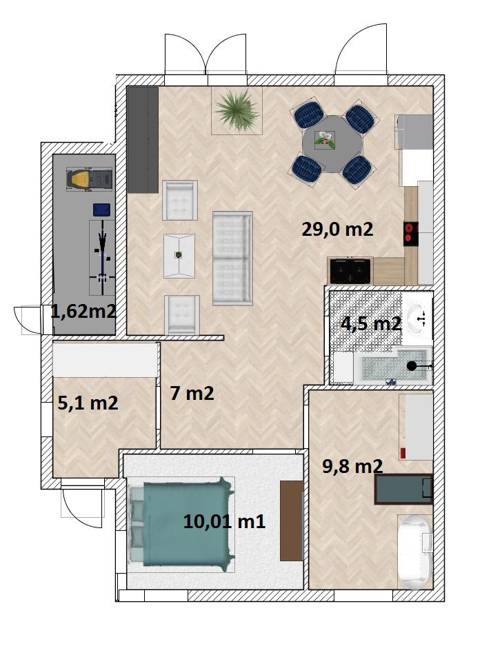 Mieszkanie Legnica ul. Podoby, dolne lewe
