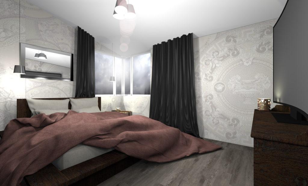 Mieszkanie Legnica ul. Podoby, górne lewe wizualizacja
